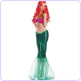 Sweet Little Mermaid Adult Costume