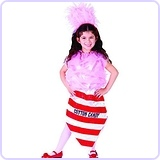 Cotton Candy Costume - Size Medium 8-10