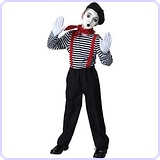 Boys' Mime Costume