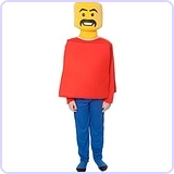 LEGO Mr Block Head Kids Costume (Age 6 to 8)