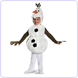 Disney Frozen Olaf Deluxe Toddler Costume, Toddler S (2T)