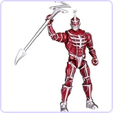 Mighty Morphin Power Rangers Legacy 5 Lord Zedd Figure