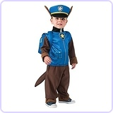 Toddler PAW Patrol Chase Child Costume, 1-2 Years