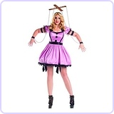 Women's Pink Marionette Costume