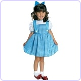 Little Girl's Dorothy Costume