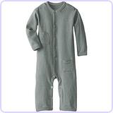 Unisex-Baby Newborn Organic Long Sleeve Overall