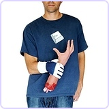 Severed Hand Illusion Prank Gloves