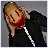 Custom Latex Smiley Mask