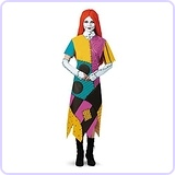 Deluxe Sally Costume for Teens, 10-12