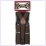New Style Toddler Suspender Bow Tie