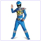 Blue Ranger Dino Charge Classic Costume, Small (4-6)