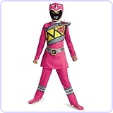 Pink Power Ranger Dino Charge Classic Costume, Small (4-6x)