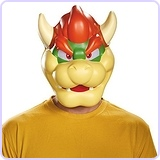 Men's Bowser Costume Mask