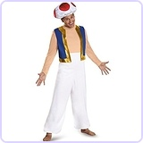 Toad Deluxe Adult Costume, XX-Large