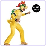 Men's Bowser Deluxe Adult Costume, XX-Large
