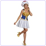 Toad Female Costume, Large