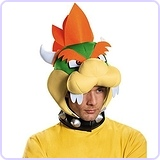 Bowser Headpiece Costume Accessory - Adult