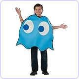 Pac-Man Inky Child Costume