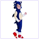 Baby Boys' Sonic Romper Costume, 1-2 Years