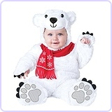 Baby's Lil' Polar Bear Costume