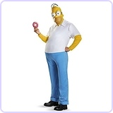 Homer Deluxe Adult Costume