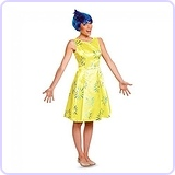 Women's Inside Out Joy Deluxe Costume