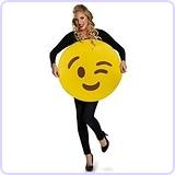 Wink Emoji Costume
