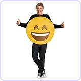 Smile Emoticon Emoji Adult Costume