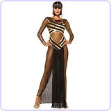 Women's 3 Piece Goddess Isis Costume