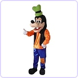 Goofy Mascot Costume for Adults