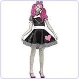 Broken Doll Costume Junior Teen