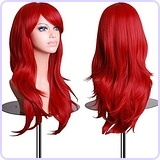 28 inch Wavy Curly Cosplay Wig
