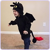 Child Dragon Sweatshirt Hoodie (2 - 4 years)