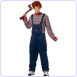 Adult Chucky Costume, Small
