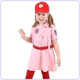 Rockford Peaches Girls Costume Dress (3/4)