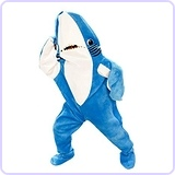 Katy Perry Left Shark Adult Plus Costume