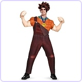 Plus Size Deluxe Wreck It Ralph Costume