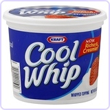 KRAFT Cool Whip Topping 16 Oz Pack of 2