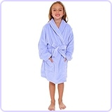 Girl's Soft Plush Bathrobe Robe