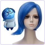 Inside Out Characters Sadness Wig