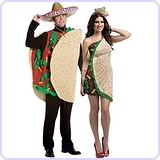 Taco Couples Costume