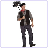 Bert Mary Poppins Chimney Sweep Complete Outfit