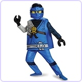 Deluxe Ninjago LEGO Jay Costume, Medium/7-8