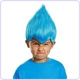 Blue Wacky Child Wig