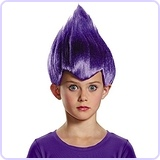 Purple Wacky Child Wig