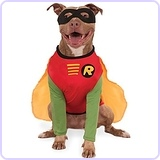 DC Comics Robin Big Dog Costume, XXX-Large