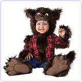 Unisex Baby Wee Werewolf Costume, Medium