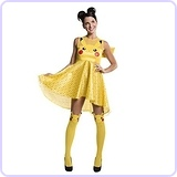 Women's Pokemon Pikachu Costume Dress