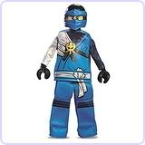 Prestige Ninjago LEGO Jay Costume, Large/10-12