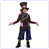Mad Hatter Prestige Costume, Large/10-12